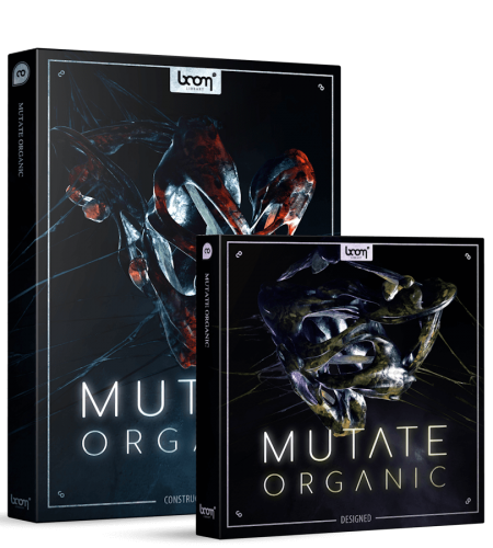 BOOM Library Mutate Organic Sound Effects Bundle