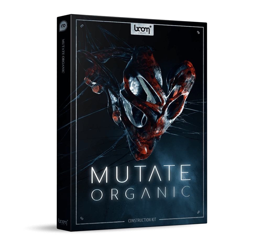BOOM Library Mutate Organic Sound Effects Construction Kit
