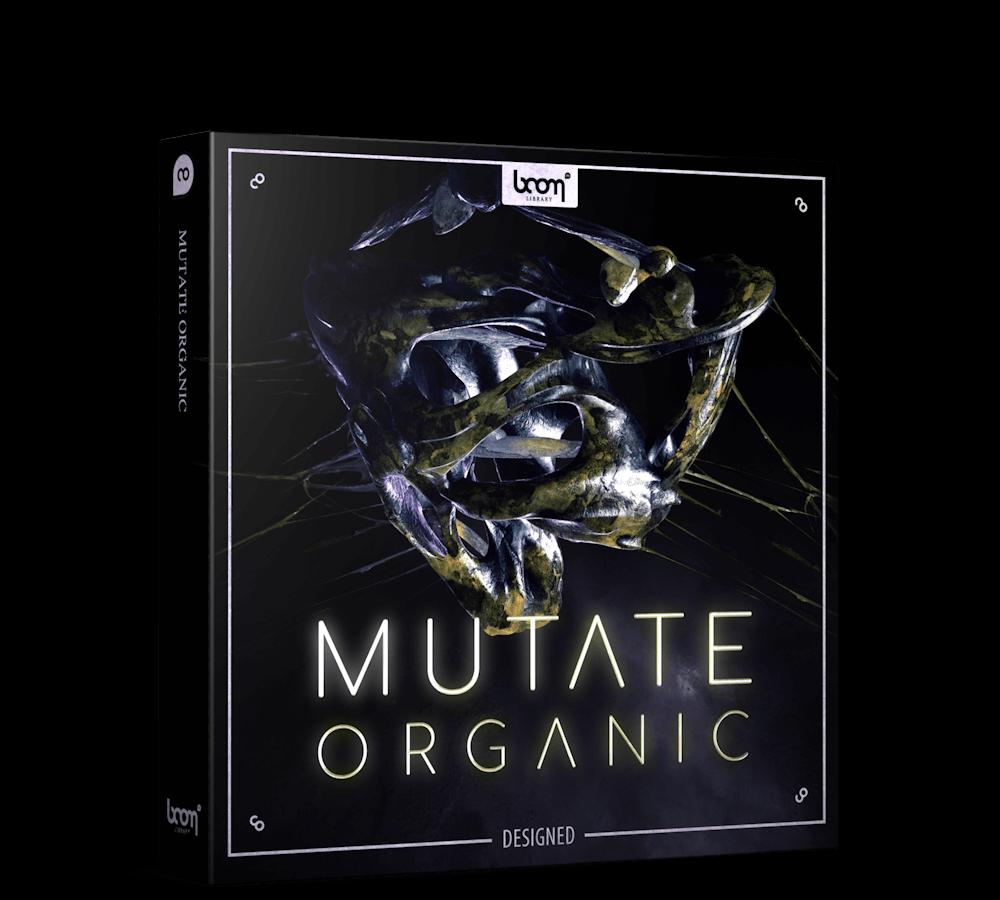 BOOM Library Mutate Organic Sound Effects Designed