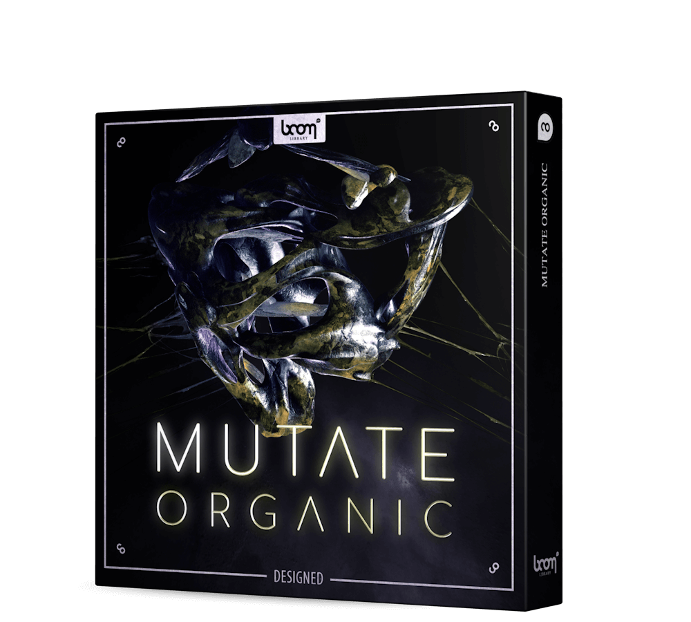 BOOM Library Mutate Organic Sound Effects Designed