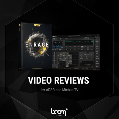 enrage, boom library, plug-in