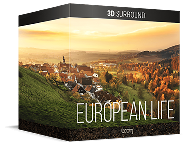 New: EUROPEAN LIFE – 3D SURROUND