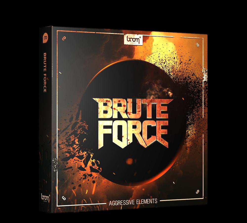 Brute Force Aggresive Sound Design Elements packshot Boom Library