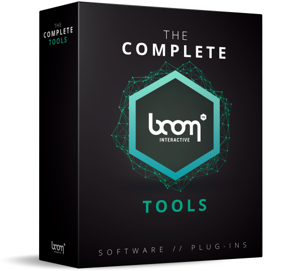 The Complete Boom Tools - sound design plugins - BOOM Library