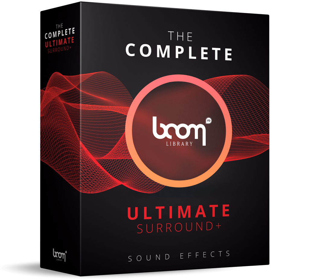 Complete BOOM Ultimate Packshot - complete sound library - BOOM Library